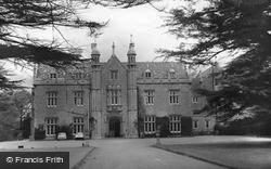 Watchfield, Beckett Hall Officers Mess, Royal Military School Of Science c.1960