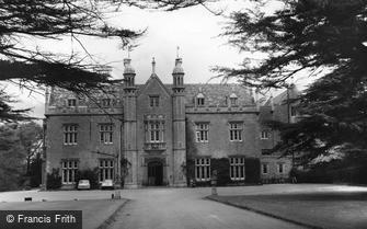 Watchfield, Beckett Hall Officers' Mess, Royal Military School of Science c1960
