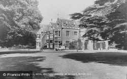 Watchfield, Beckett Hall, Royal Military College Of Science c.1960