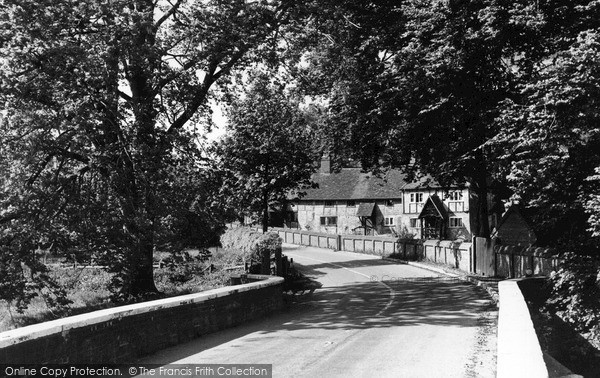 Water End, The Village c.1955