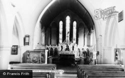 Waterbeach, St John's Church Interior c.1965