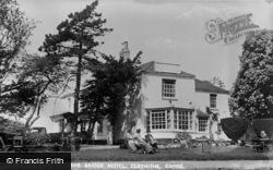 Waterbeach, The Bridge Hotel, Clayhithe c.1953