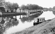 Waterbeach, The River Cam, Clayhithe c.1955