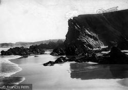 Watergate Bay, Crigga Rocks 1918