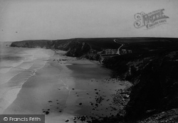 Watergate Bay 1904, Watergate Bay