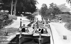 Watford, Cassiobury Park And Iron Bridge Lock 1921