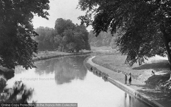 Photo of Watford, Cassiobury Park Canal 1921