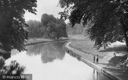 Watford, Cassiobury Park Canal 1921