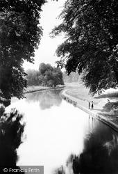 Watford, Cassiobury Park, The Canal 1921