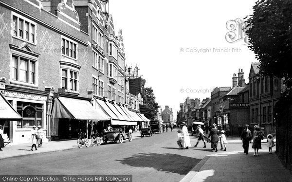 Photo of Watford, High Street 1921