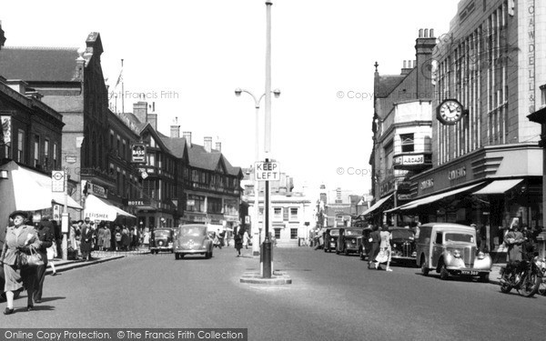 Photo of Watford, High Street c1955