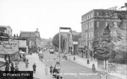 Watford, High Street c.1955