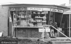 Shop At The Blue Boar Restaurant, M1 Motorway c.1965, Watford