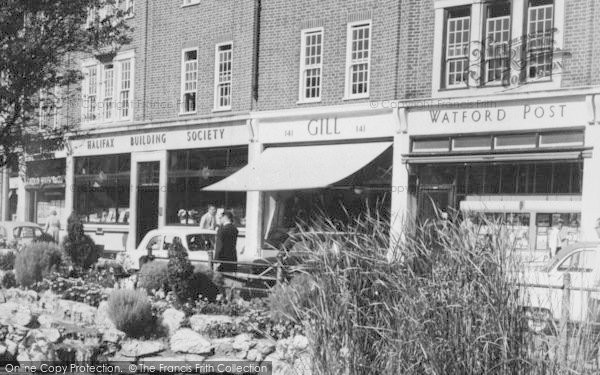 Photo Of Watford, Shops, High Street C.1960