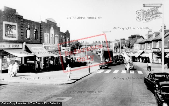 Photo Of Watford, St Albans Road C.1960