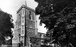 Watford, St Mary's Parish Church c.1955