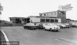 The Blue Boar Restaurant, M1 Motorway c.1965, Watford