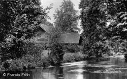 The Gade Stream, Cassiobury Park c.1950, Watford