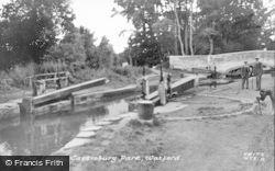 Watford, The Locks, Cassiobury Park c.1955