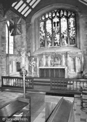 Wath-Upon-Dearne, All Saint's Parish Church Interior c.1960