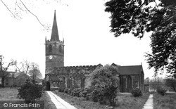 Wath-Upon-Dearne, All Saints Church c.1950