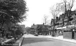 Wath-Upon-Dearne, High Street c.1950