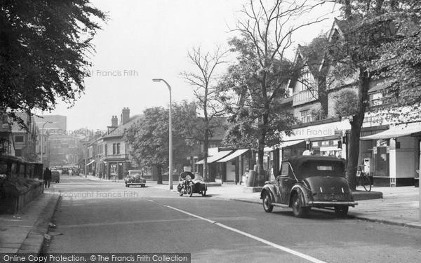 Photo of Wath Upon Dearne, High Street c.1955
