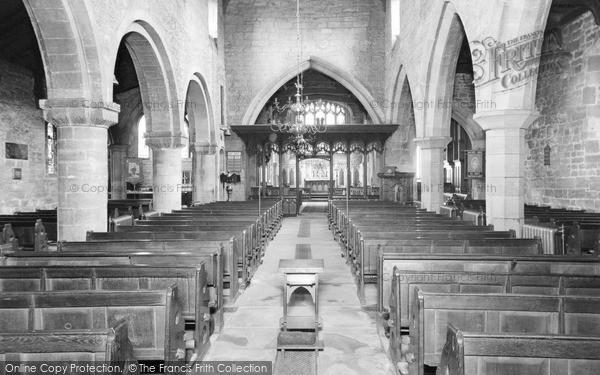 Wath-Upon-Dearne, Parish Church interior c1950