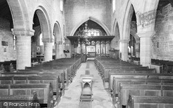 Wath-Upon-Dearne, Parish Church Interior c.1950