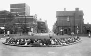 Wath-Upon-Dearne, the Island and Church Street c1955