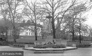 Wath-Upon-Dearne, the Memorial and Town Hall c1950