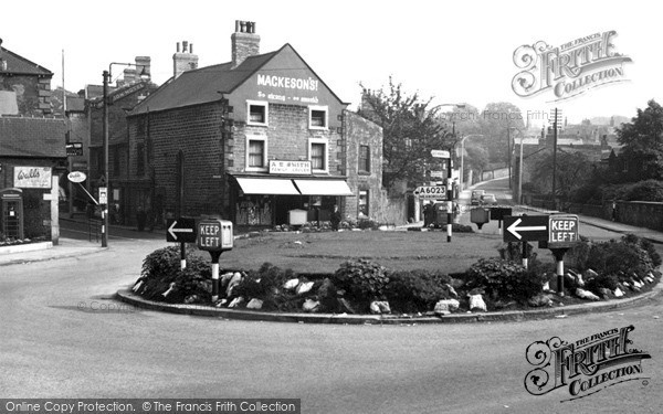 Wath-Upon-Dearne, Roundabout c1955