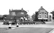 Wath-Upon-Dearne, the Roundabout c1955