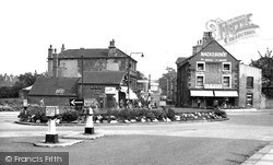 Wath-Upon-Dearne, The Roundabout c.1955