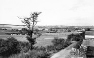 Wath-upon-Dearne, view from New Hill c1965