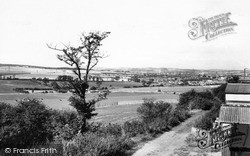 Wath-Upon-Dearne, View From New Hill c.1965