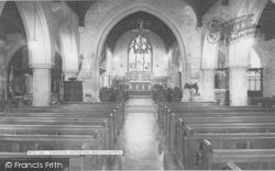 Watlington, Church Interior c.1965