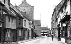 Watlington, Couching Street c.1955