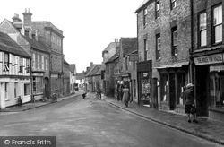 Watlington, High Street c.1950