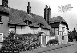 Watlington, Old Cottages, Church Street c.1955