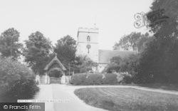 Watlington, St Leonard's Church c.1965