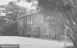 Watlington, The Hospital c.1960