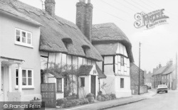 Watlington, The Thatch, Church Street c.1965
