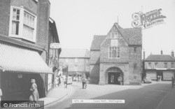 Watlington, Town Hall c.1965