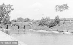 Loch Neaton Swimming Pool c.1955, Watton