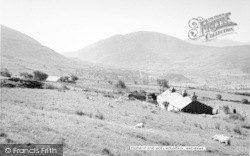 Waunfawr, The Elephant And Moel Mountains c.1960