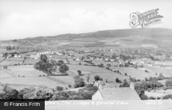 Waunfawr, The Village And General View c.1955