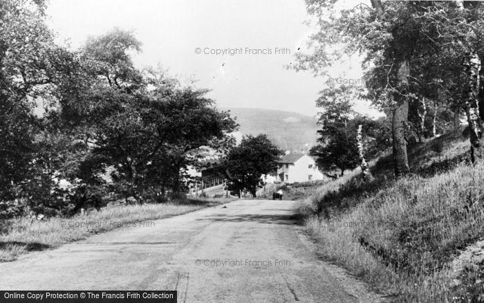 Photo of Waunlwyd, Road To Gargan Wells c.1955