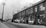 Waunlwyd, the Parade, Park Place c1955
