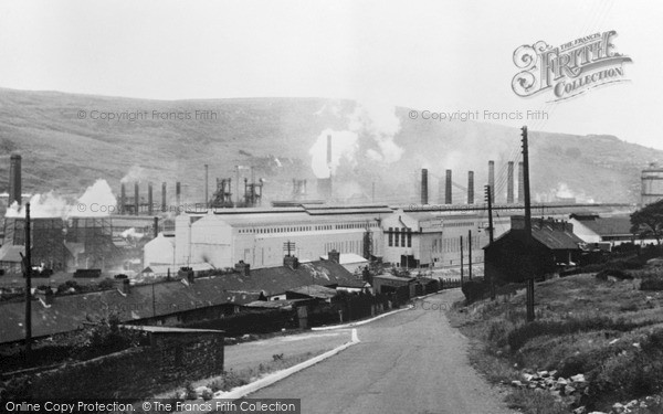Photo of Waunlwyd, The Steel Works c.1960